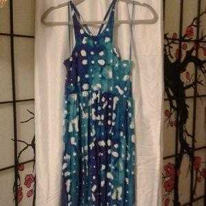 Cynthia Rowley print maxi dress